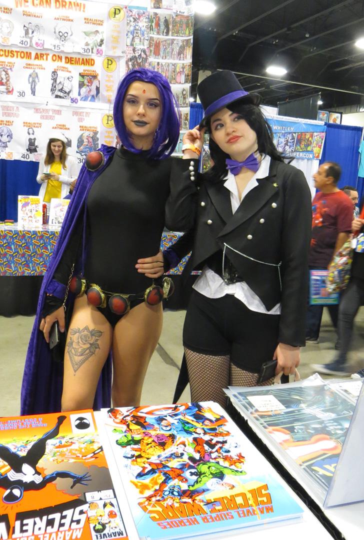 Raven and Zatanna(?)