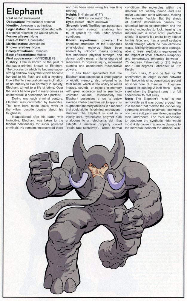 Invincible Universe Handbook #1 Pinup
