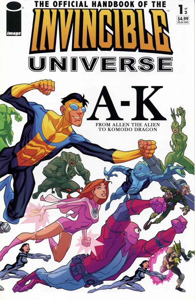 Invincible Universe Handbook #1