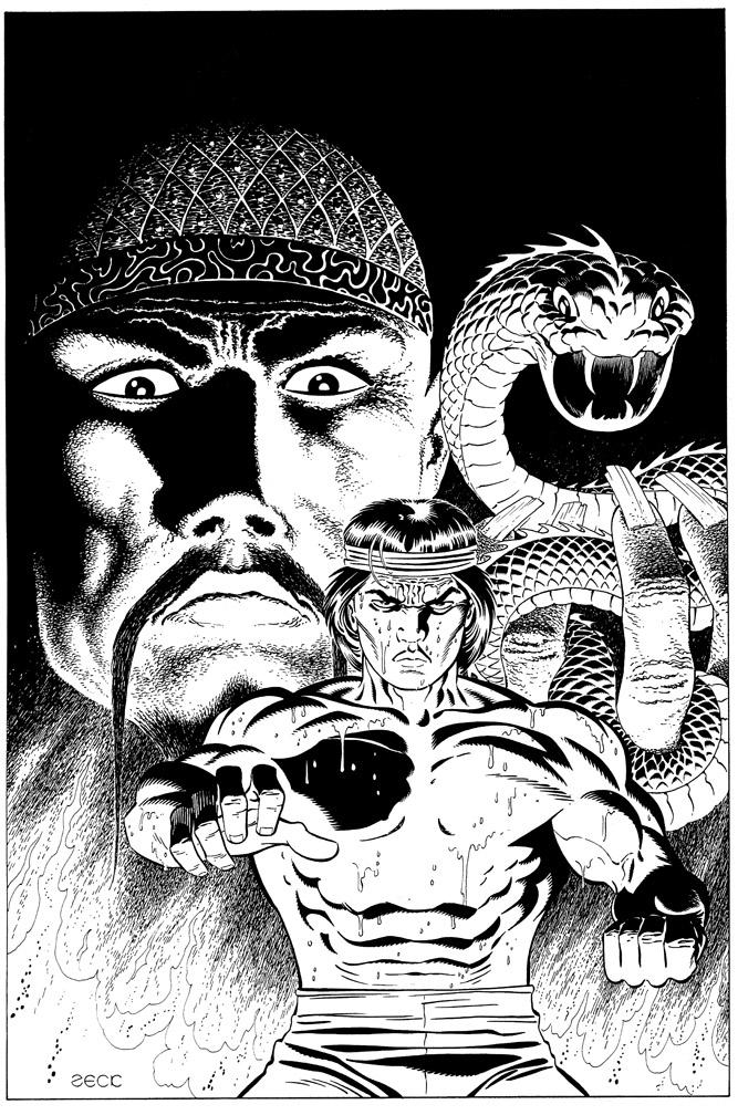 Master of Kung Fu 83 Recreation