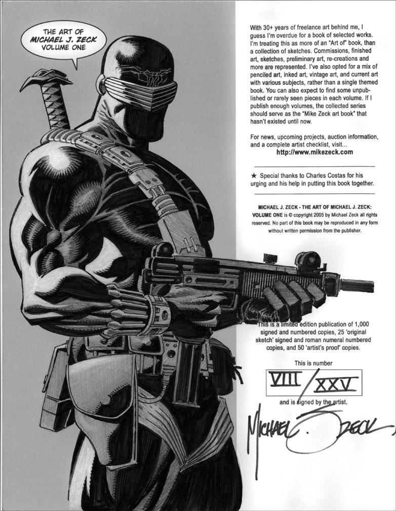 Snake Eyes in Sketchbook