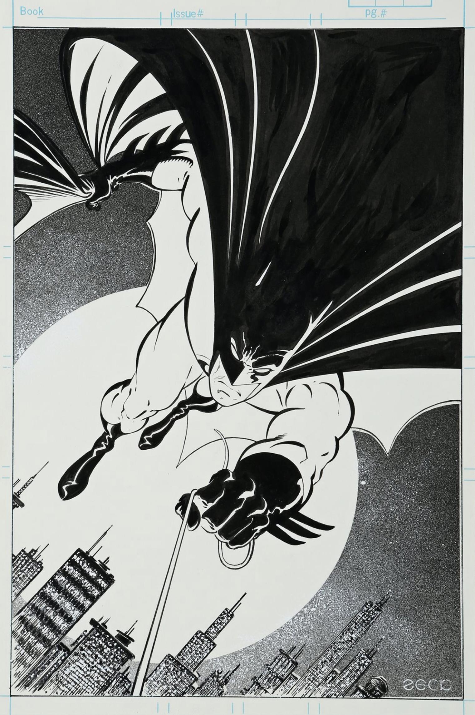 Detective Comics #600 pinup art