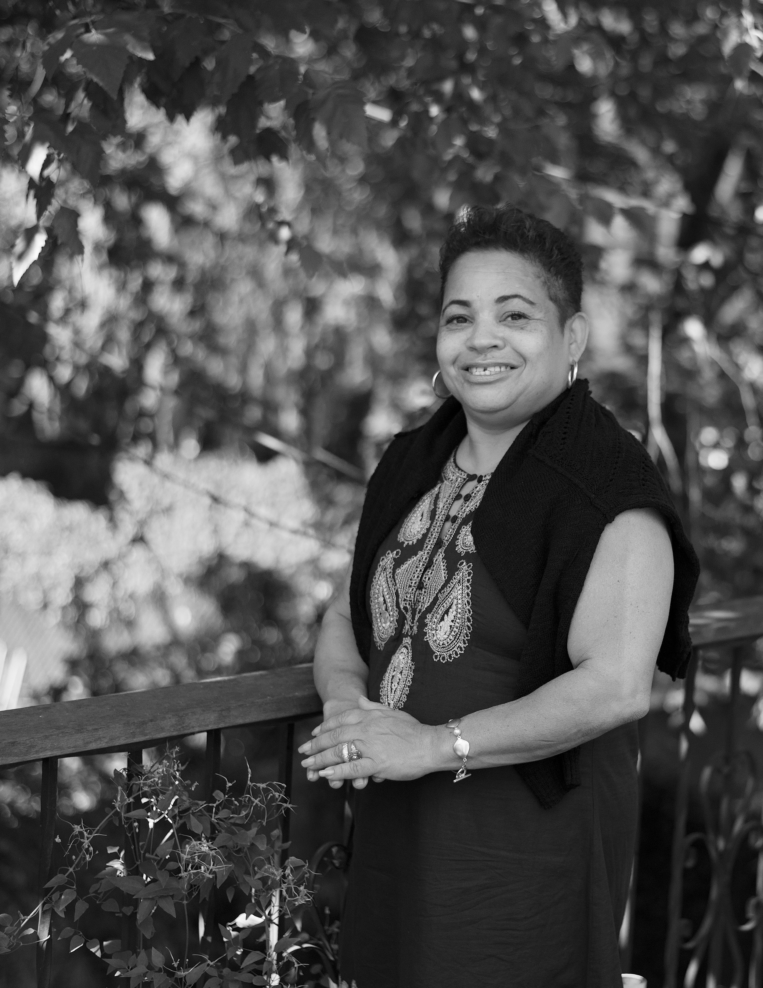 """AWILDA, """"WINDY,"""" 55. Served 10 years. Released: 1994.   Judy believed in me and pushed me to get an education and to dream big. I ended up getting my B.A. and then my M.S.W. and I have taken what I learned from Judy out into the world and have been able to share her wisdom with hundreds of my own clients over the years."""