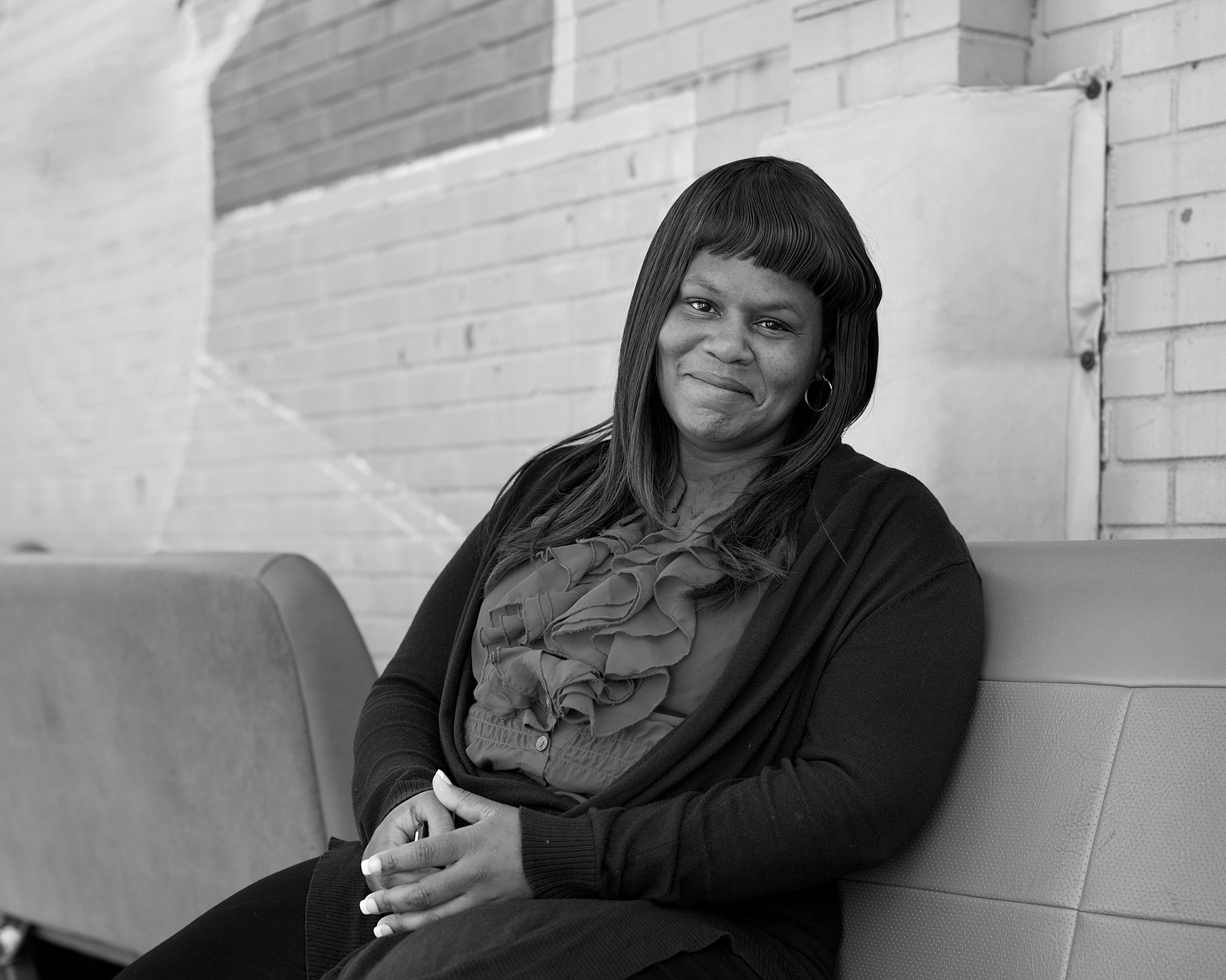 KANISHE, 40. Served 2-1/2 years. Released: 2013.   Even though Judy's an inmate, she basically runs the parenting classes. But because she's an inmate, we can relate to her. I didn't think I could be a good parent because I had substance abuse issues and I lost my first son, but she told me I could be a good parent as long as I'm physically and emotionally healthy. I still use what Judy says in my day-to-day life. I take care of myself so I can take care of my son.