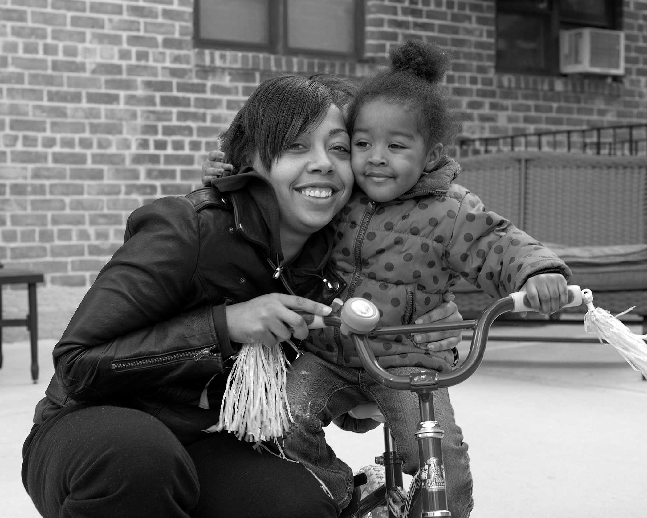"""ANAEL, 29 and RAYNE, 2. Served 8 years. Released: 2012   Judy's great. She's so insightful. In prison, I always said, """"I don't care, I don't care, I don't care,"""" and she would say, """"you do care."""" Judy taught all of the mothers on the nursery the same thing – we have to learn how to love ourselves because we're no good to anyone if we're not good to ourselves. I carry that with me."""