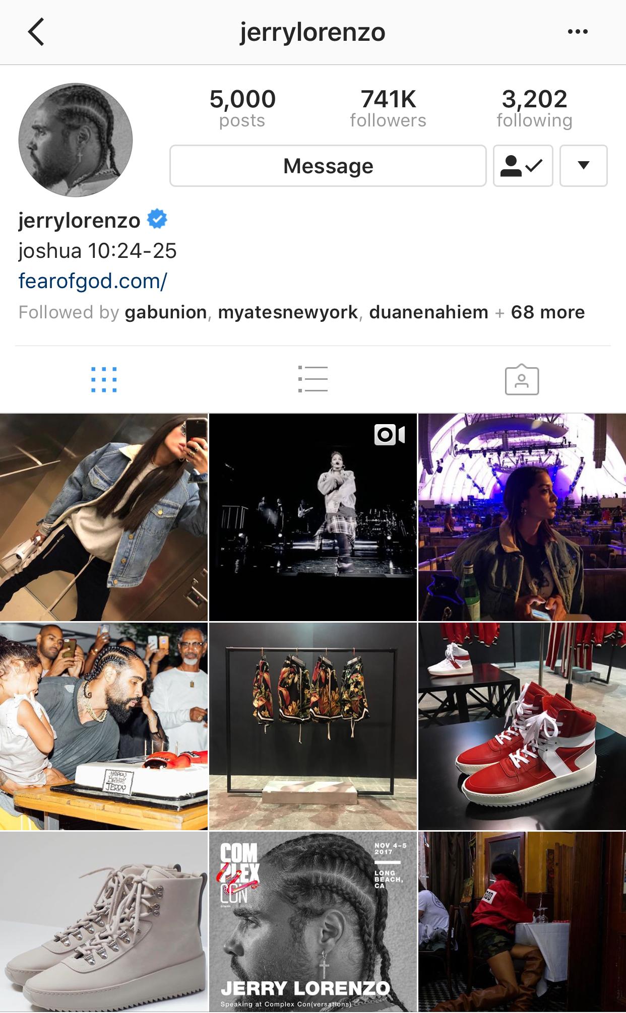 Jerry Lorenzo -