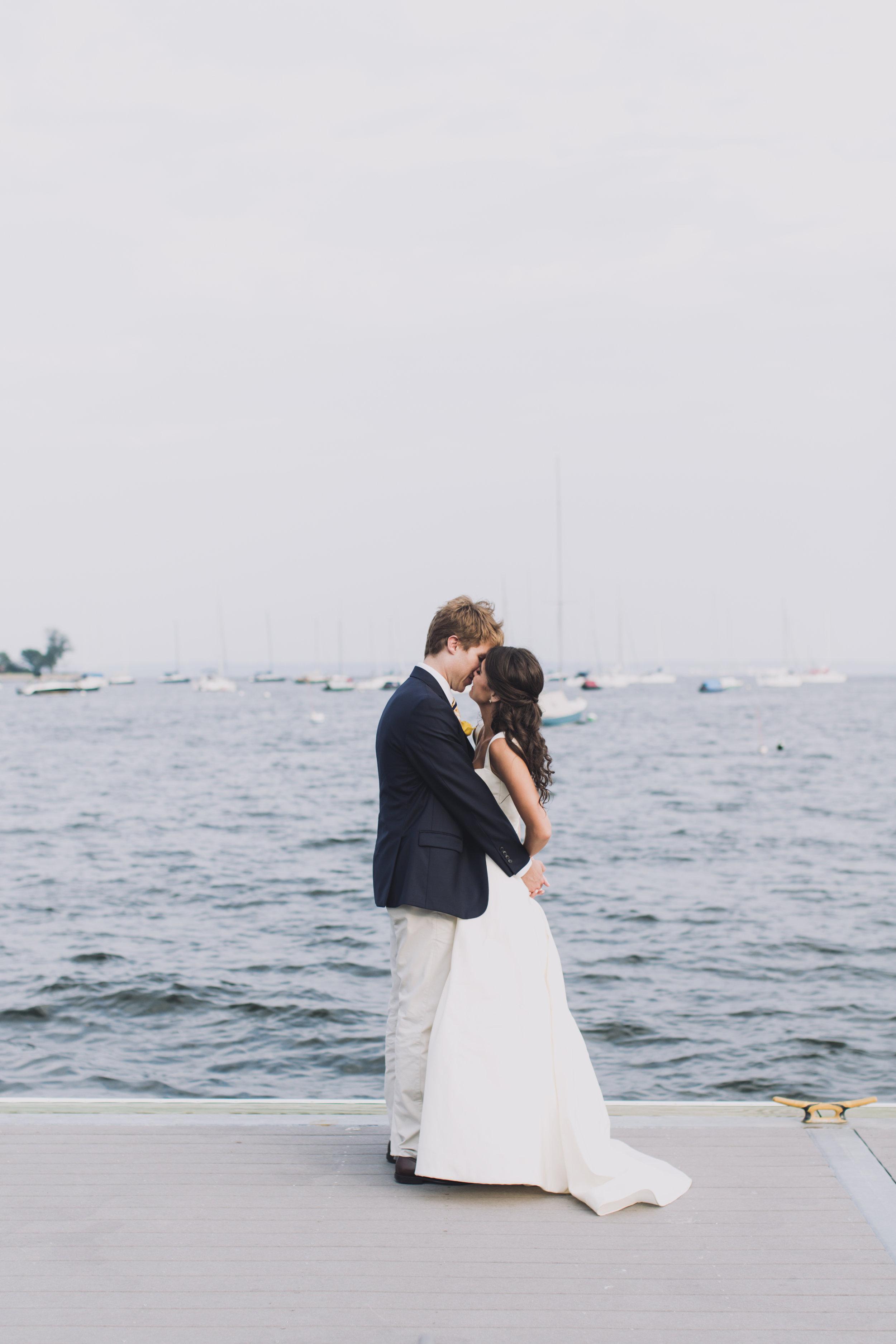 Waterfront Wedding | Larchmont, NY Madeleine + Matt | Weddings