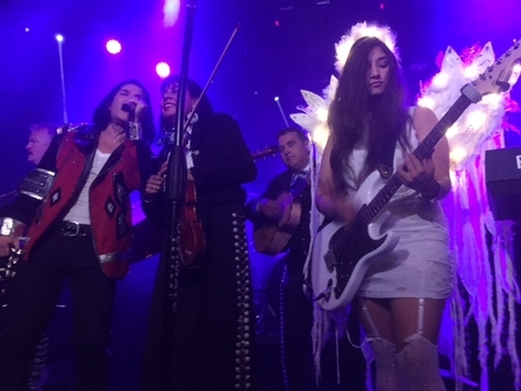 "Corey Feldman and The Angels perform ""Come Together"" photo by Jessica Klausing"