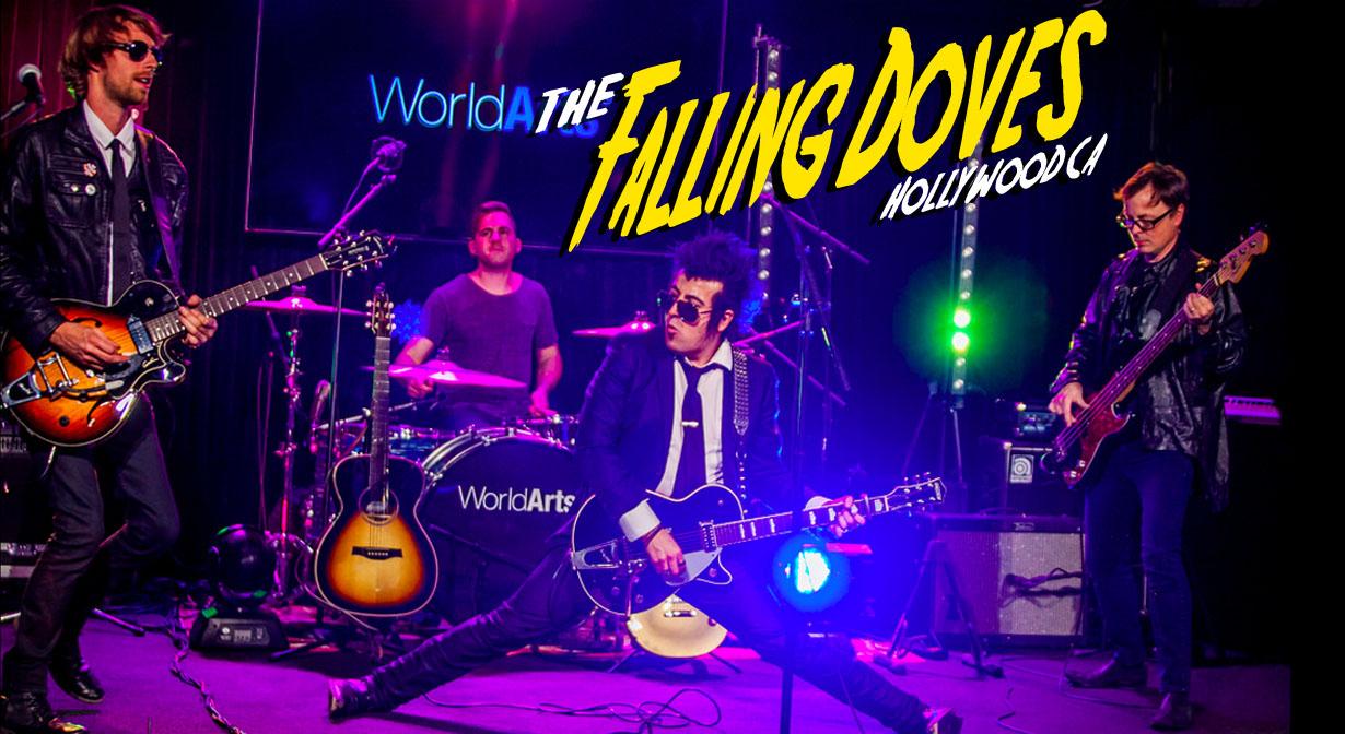 Falling Doves photo by Kelli Hayden.