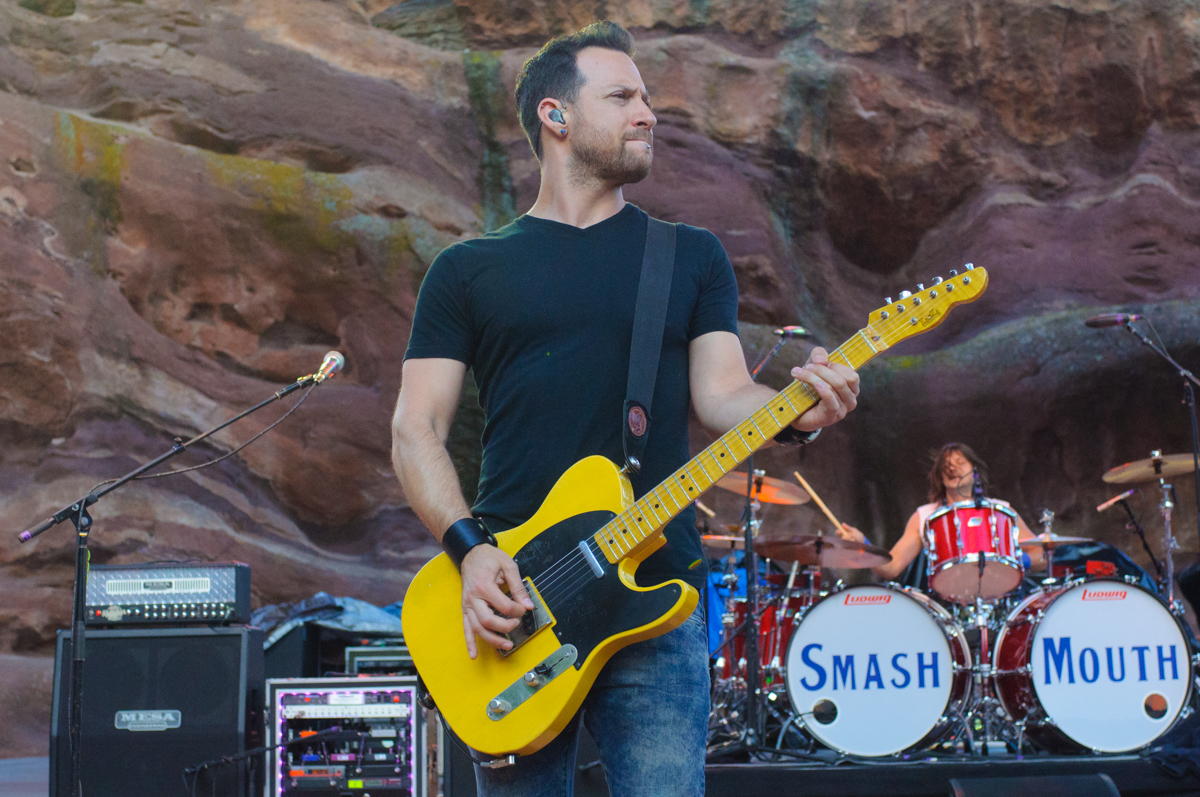 Sean Hurwitz performs at Red Rocks Amphitheatre. Photo by Candace Hogan.