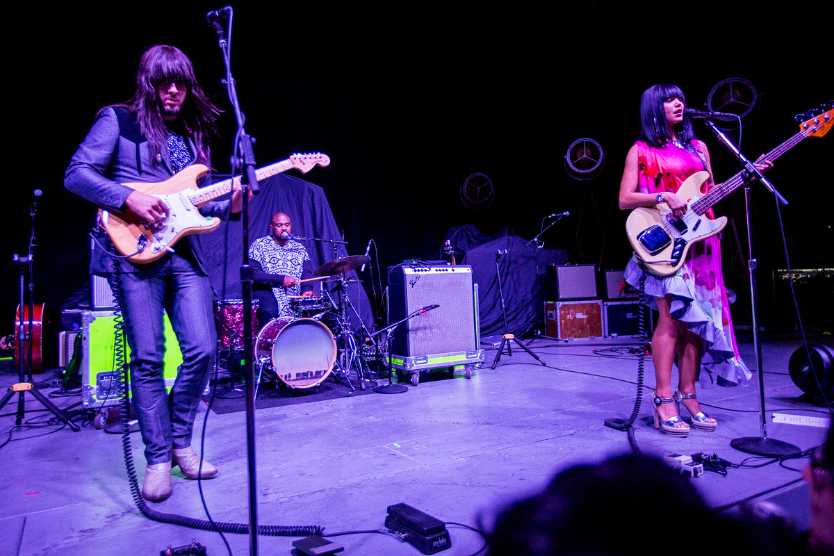 Khruangbin photo by Jessica Hanley. Credit to  Buzzbands.la