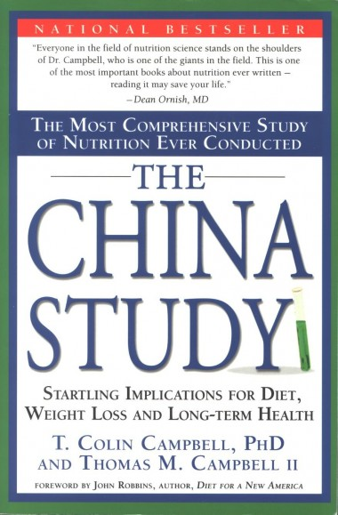 The China Study, T. Colin Campbell, PhD