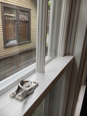 Restored Double Hung Wooden WIndows