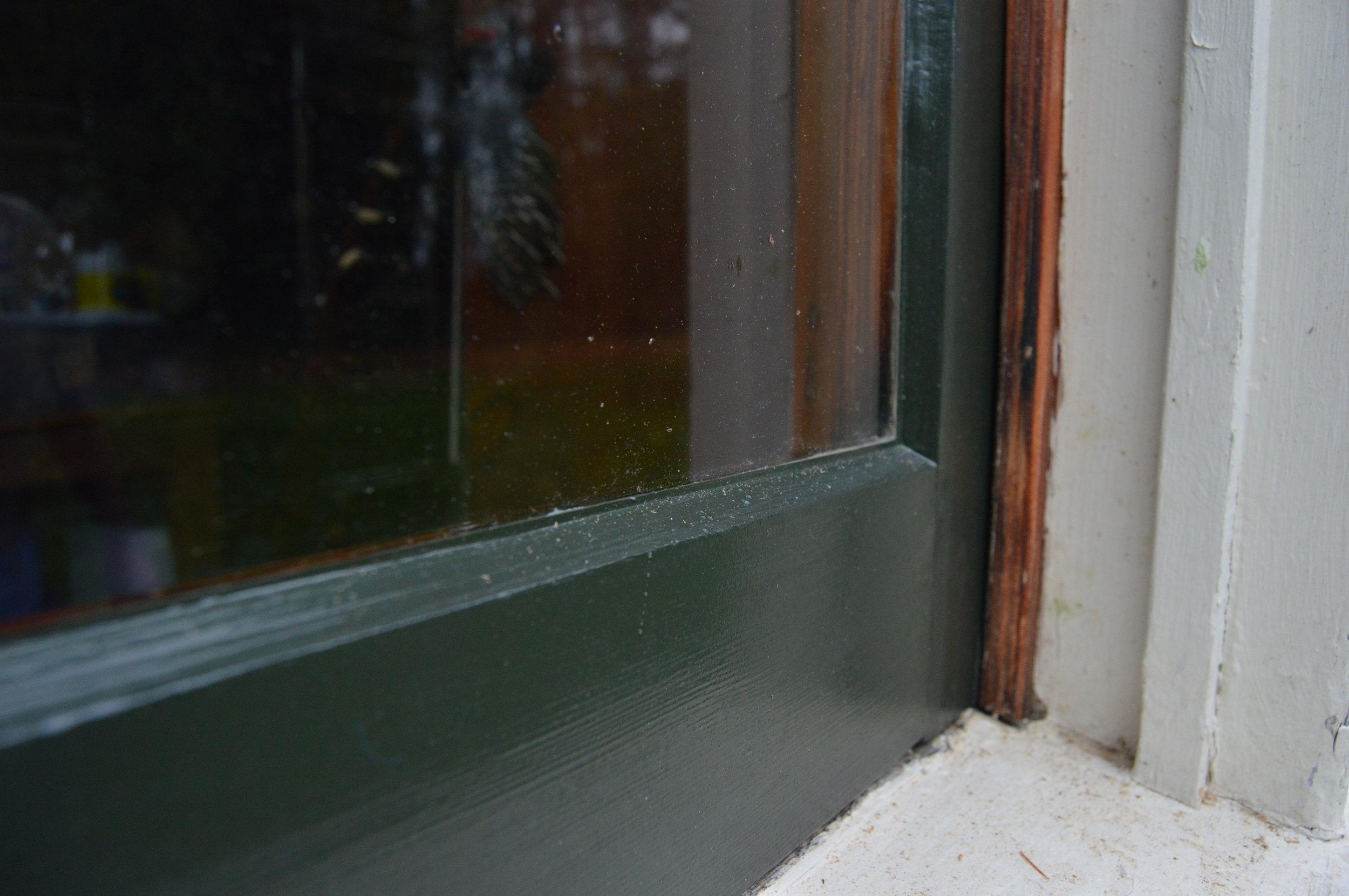 Restored Window Sash w/ Linseed Oil Paint