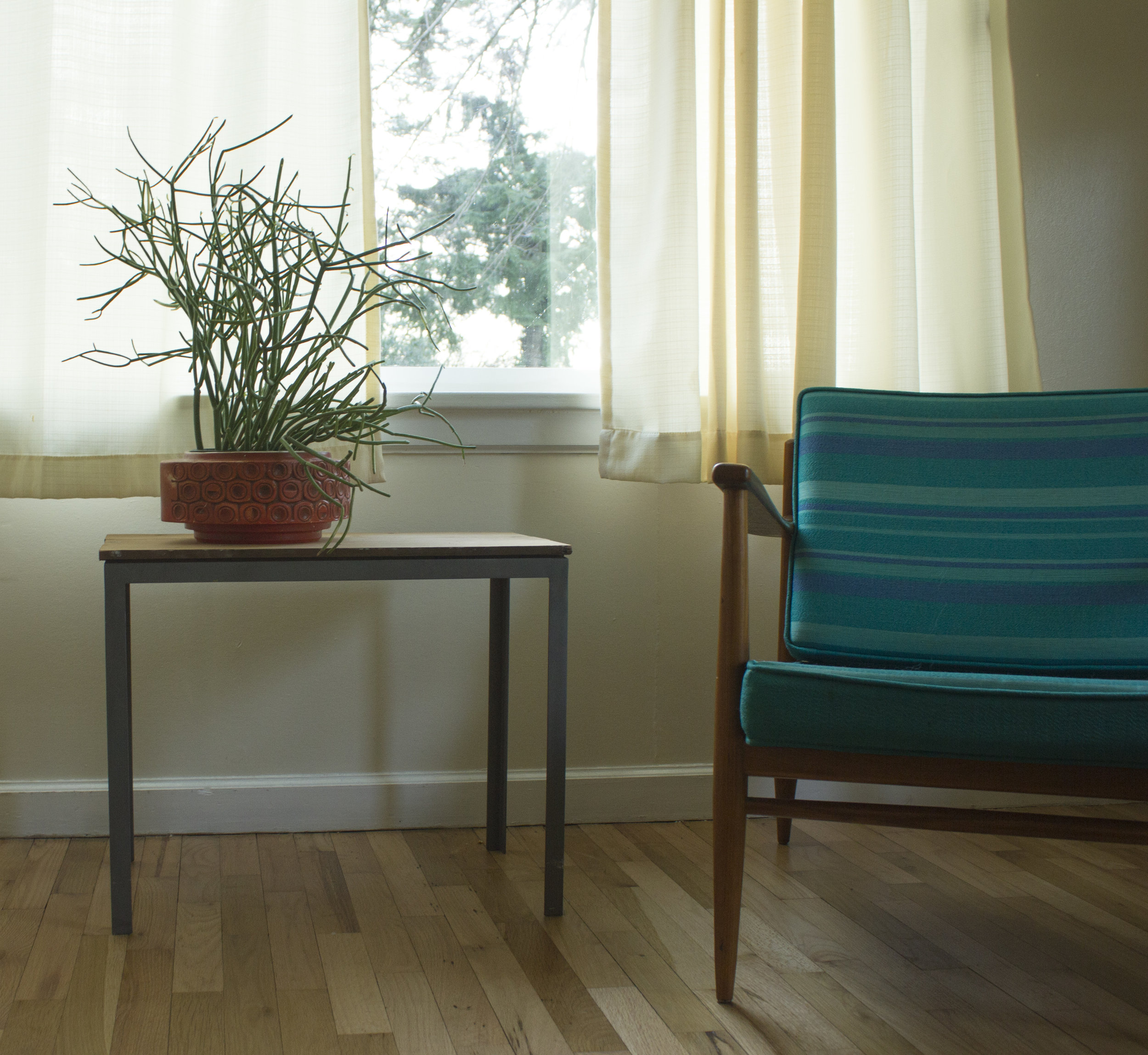 Side Table was built as a model for a kitchen table design.