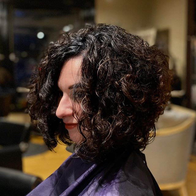 If your blessed with curls. Do yourself a favor and see Shannon Dean