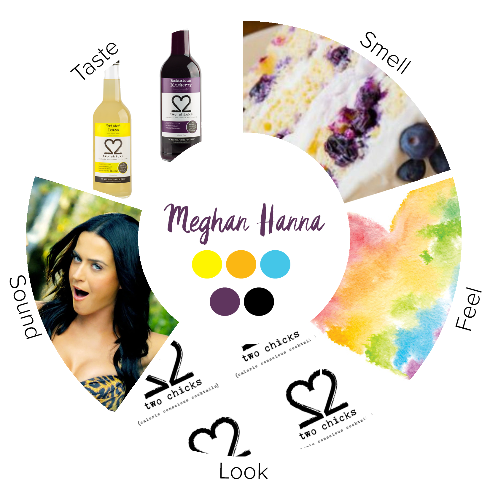 Meghan Hanna's Sensorial Mood Wheel was created by Laura Kyttanen. Cannot be reused without permission.