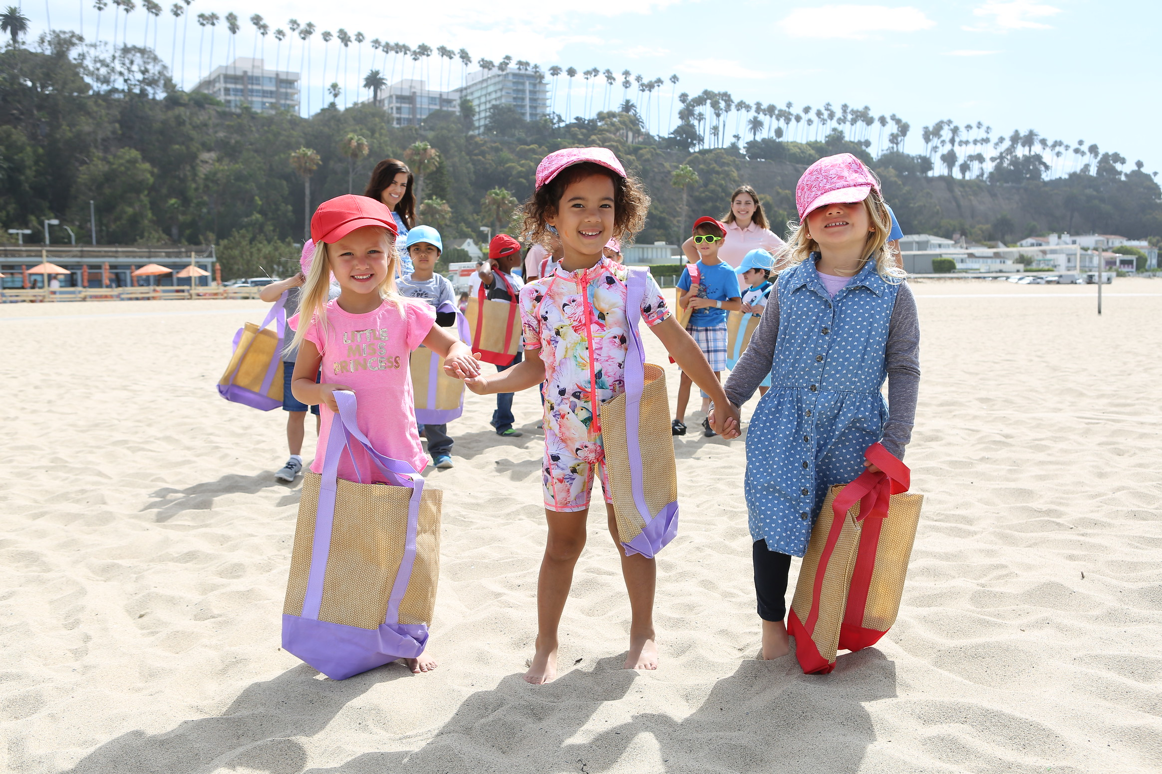 Kinder Ready beach walk at Summer Camp. Photo Credit:  Tasia Wells , Getty Images.
