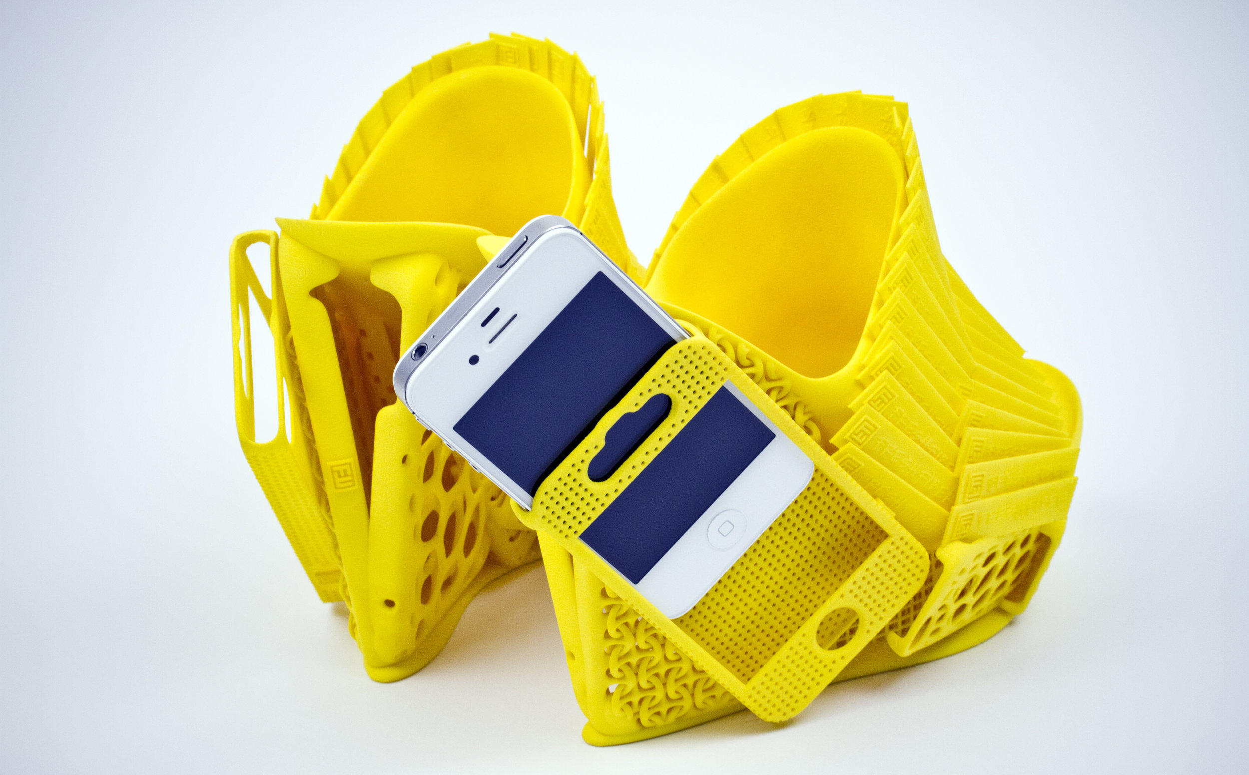Mashup phone shoes