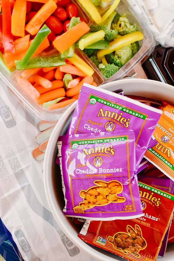Birthday snacks