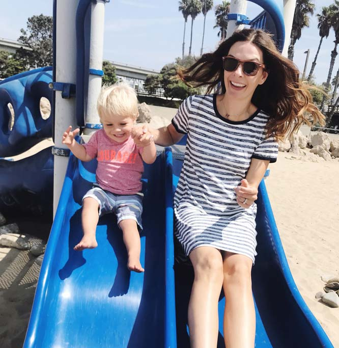 Sliding into the weekend getaway at our first pit stop in Ventura, California