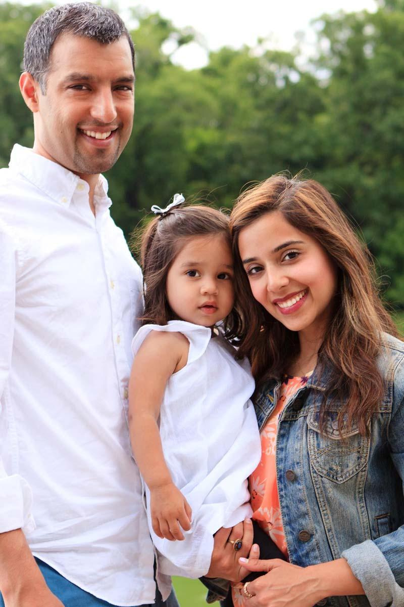 Nadia's family