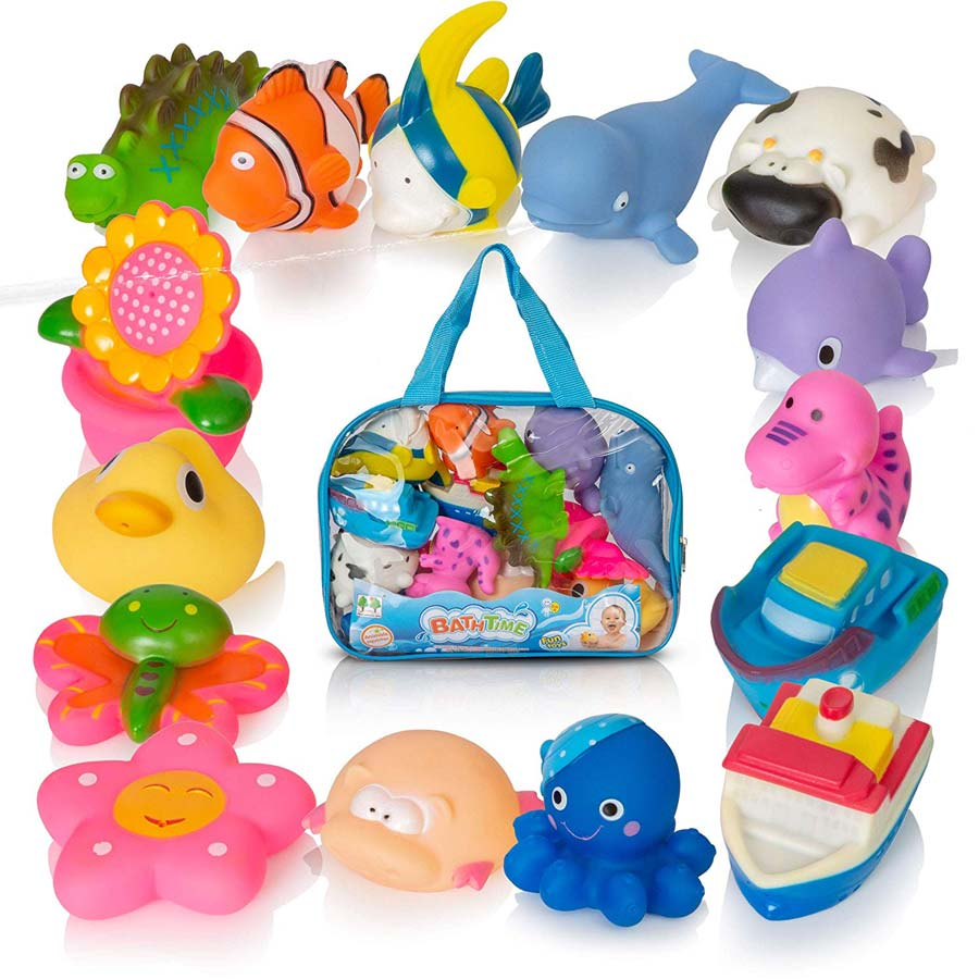 Bath squirt toys