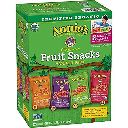 Annie's fruit snacks