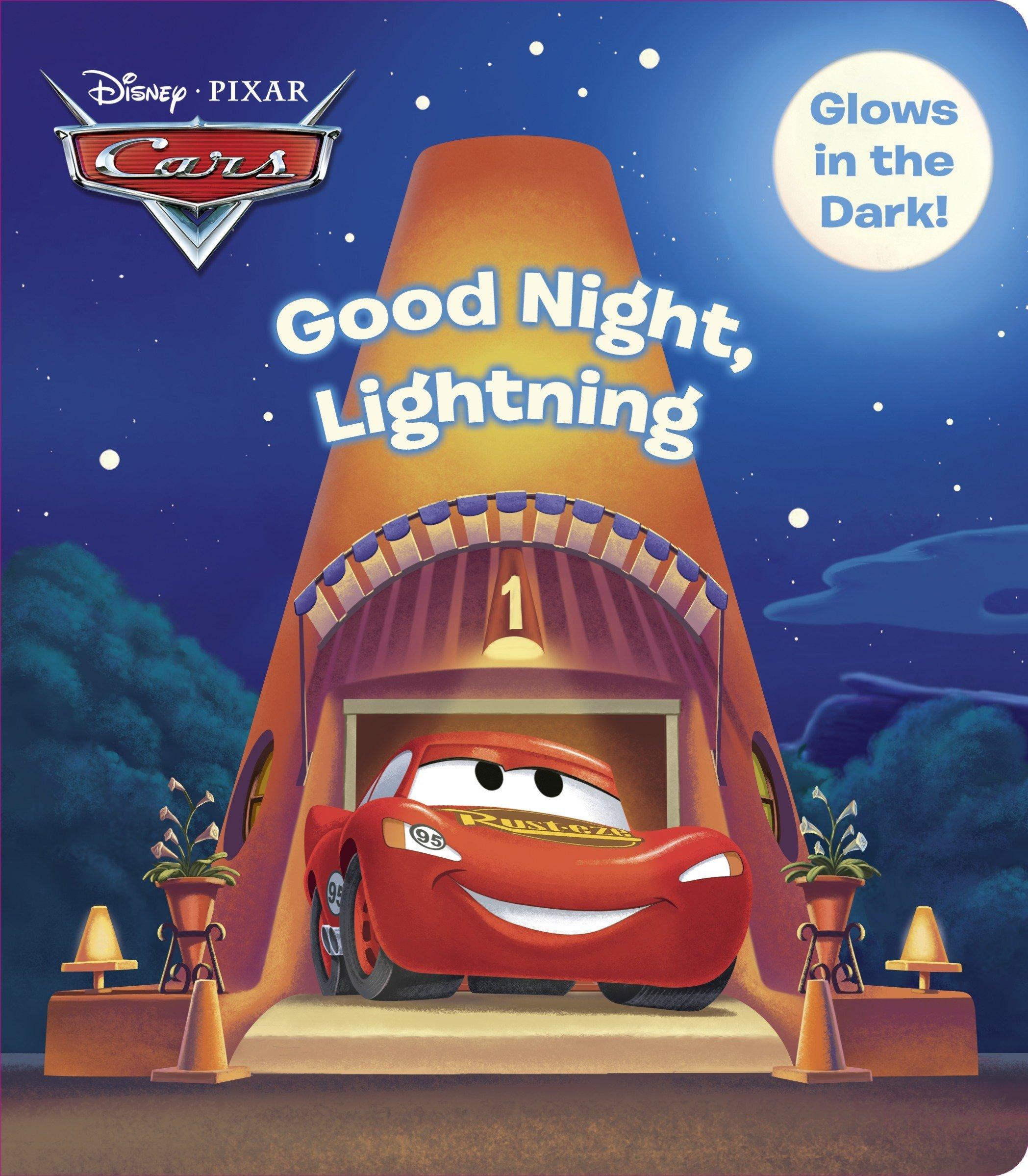 Good Night Lightning Glow in the Dark Book
