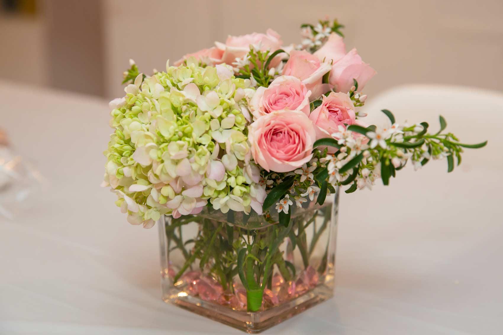 Flower arrangements I purchased, created by    Sharon Flower Designs LA