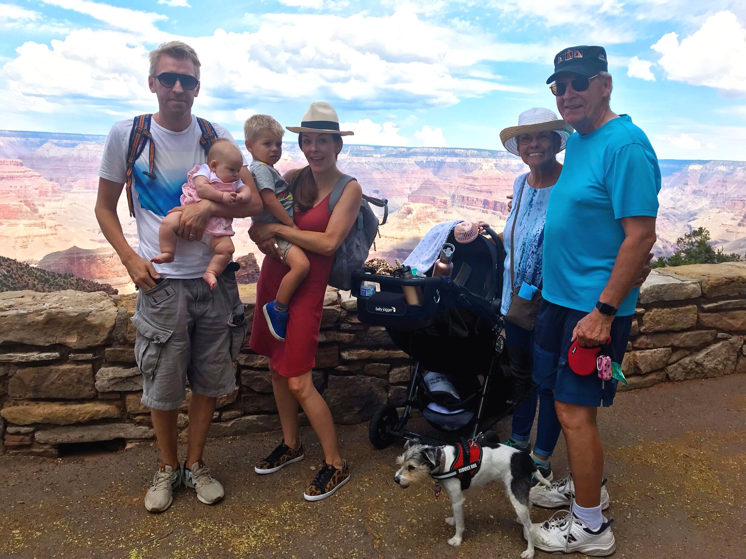 A trip to remember. Great way to celebrate Grandparents day early at the Grand Canyon in Arizona.