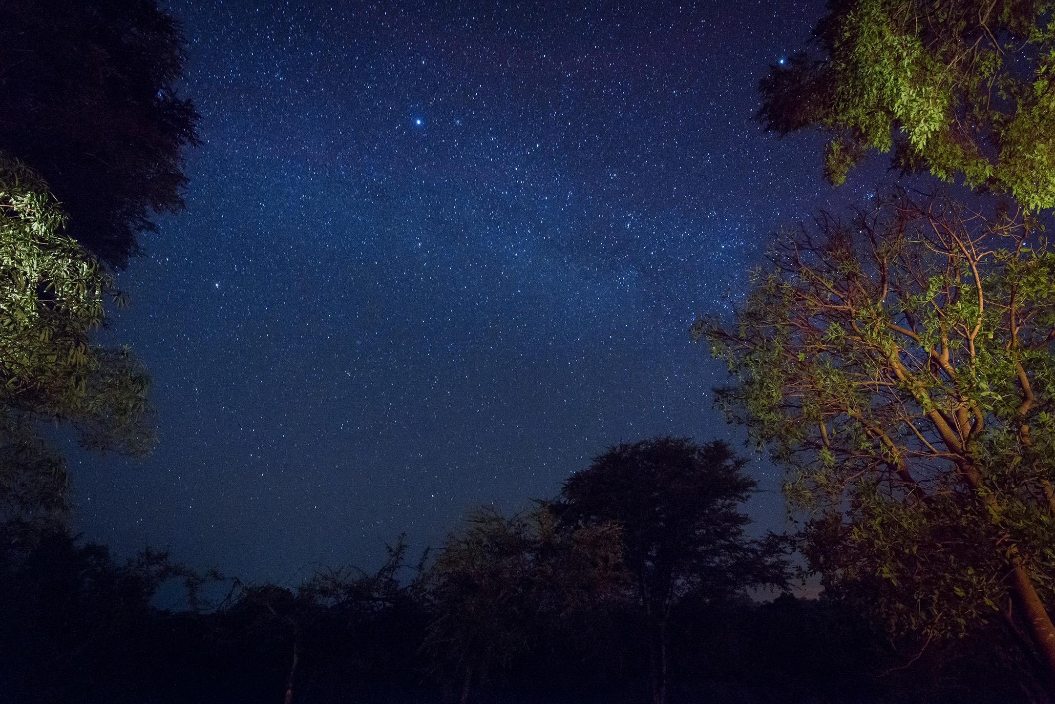 Africa Evening Sky.