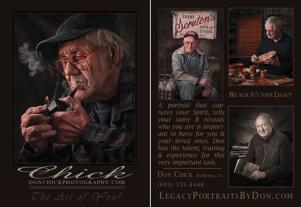 "Trading Card for ""Legacy Portraits by Don"""