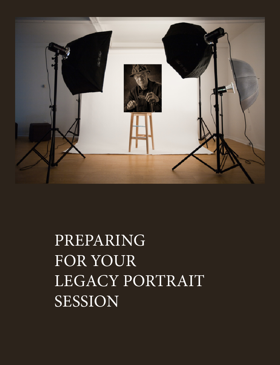 Preparing for your Legacy Portrait session.
