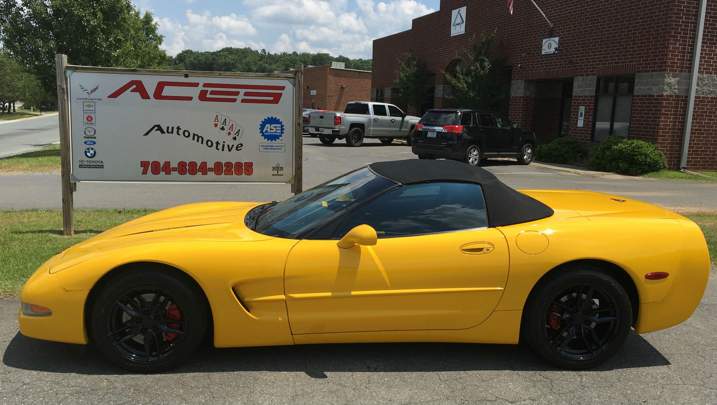 Indian Trail Corvette repair services