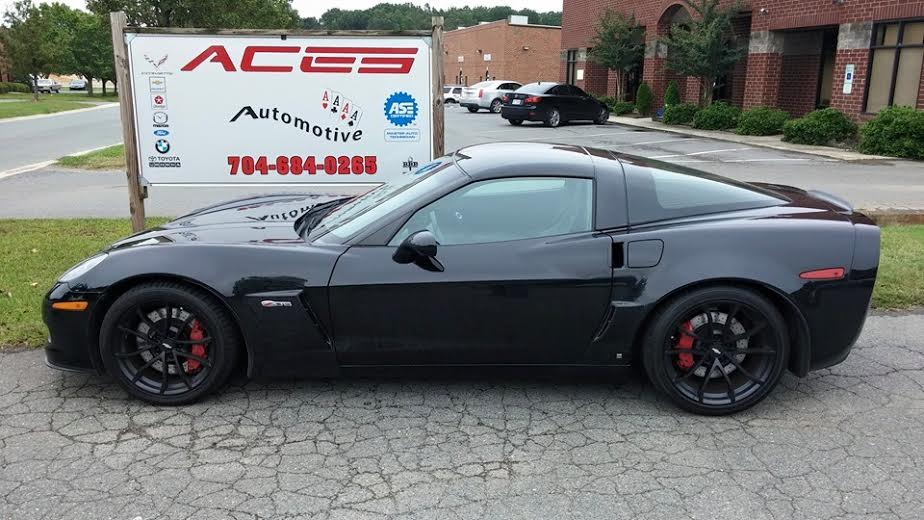 Corvette auto repair and upgrades in Indian Trail, NC