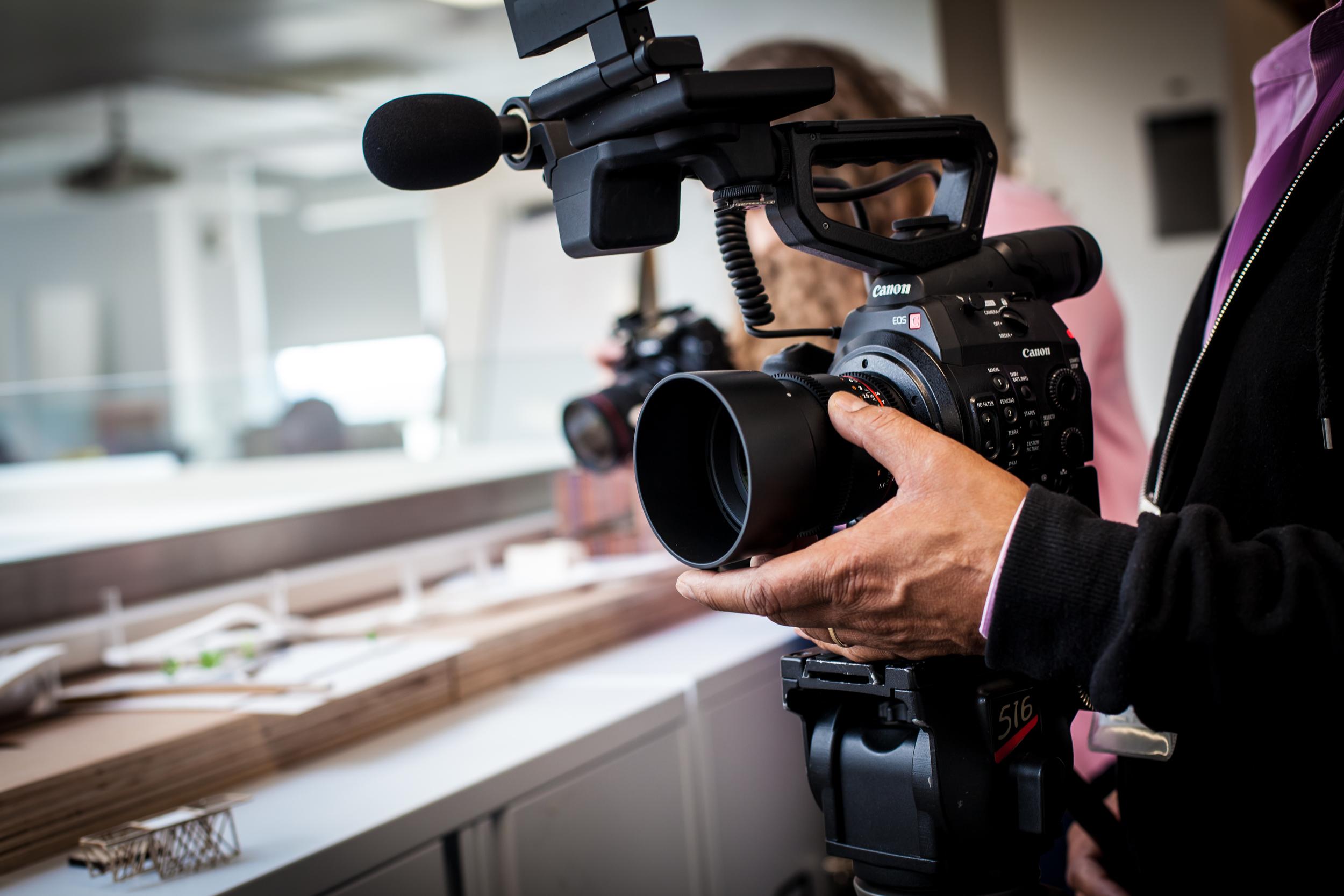 Birmingham City University Filming – Zebra Digital