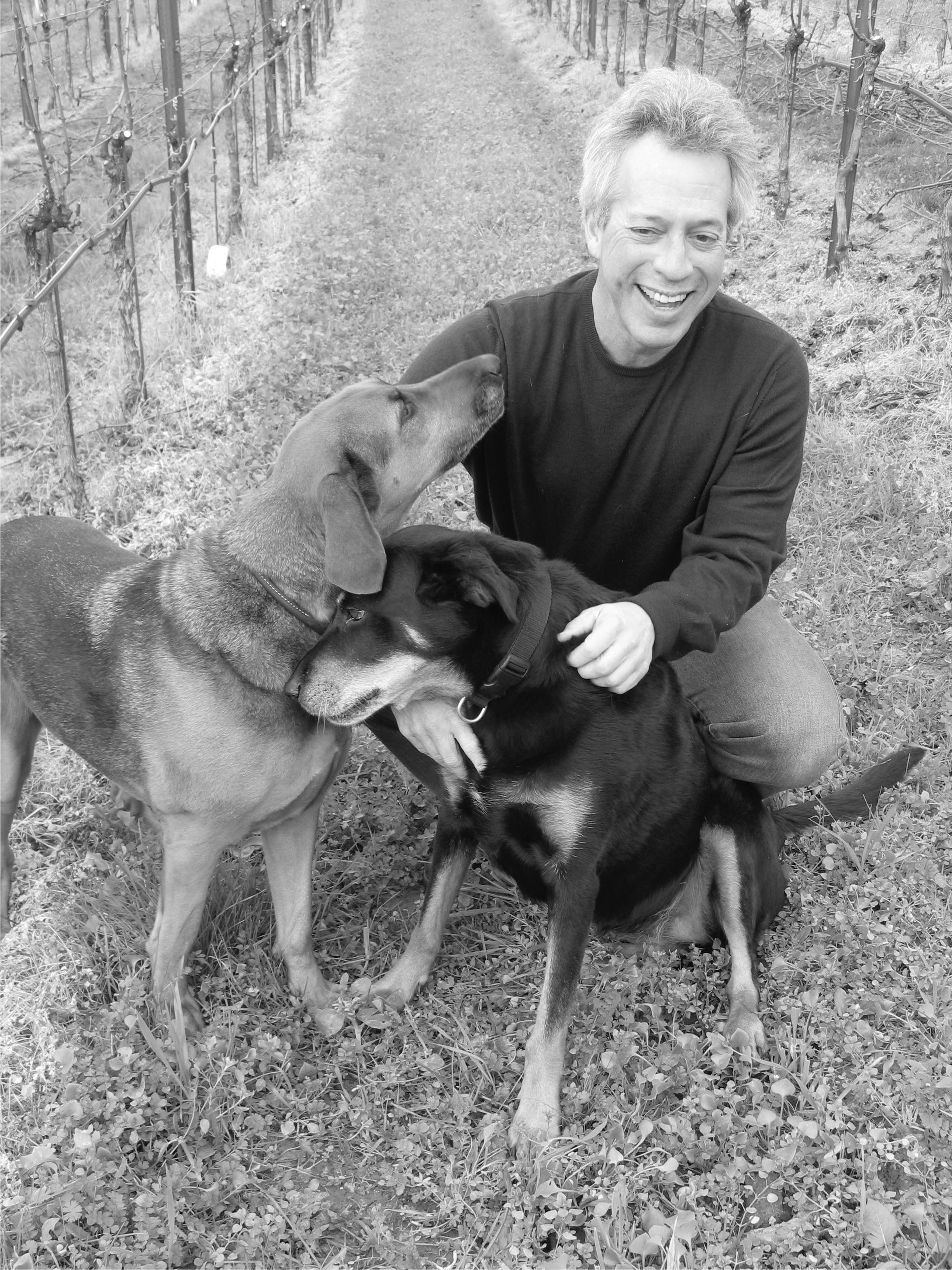 Stephen and pups.jpg