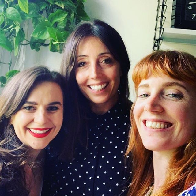 And that's a WRAP. Such a treat to join @meganmorass and @tarastarlet on their @theslicepodcast talking about making a decision on having kids and choosing to be #childfree. THANK YOU 🤗 . . We discussed the important difference between being #childless vs #childfree . . We busted some myths like 'won't you be lonely when you are older?' To 'well, you just ain't met the right man yet' 🙄 . . I shared a coaching technique to help you make a big decision like this one without sending your head into a spin. . . And we just had a really lovely, honest, open chat about the whole topic. . . This Episode will be live from Sept 16th. ❤️ . . #childfree #childless #womanhood #feminism #podcast #motherhood #parenting