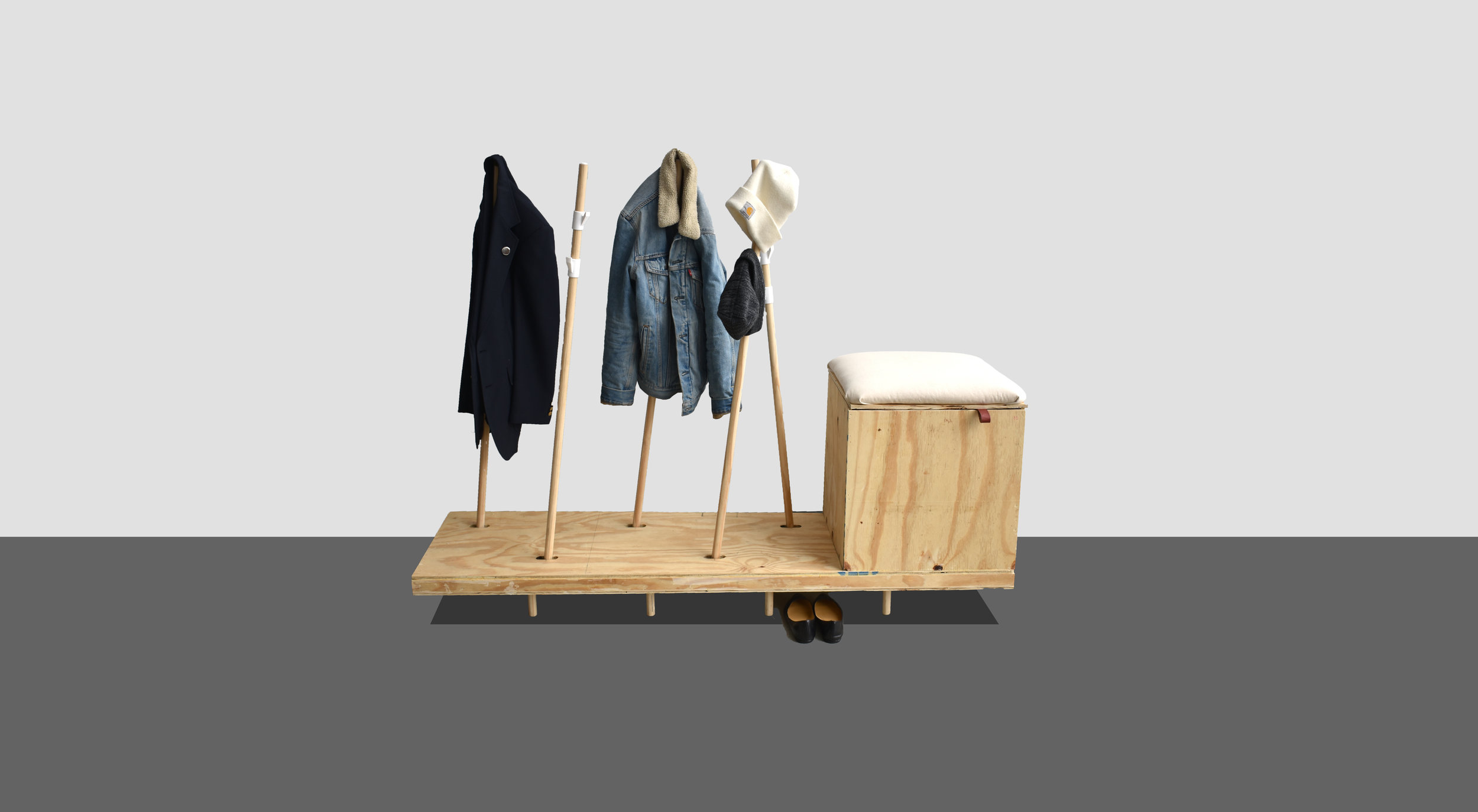 The Warmi Heated Coat Rack