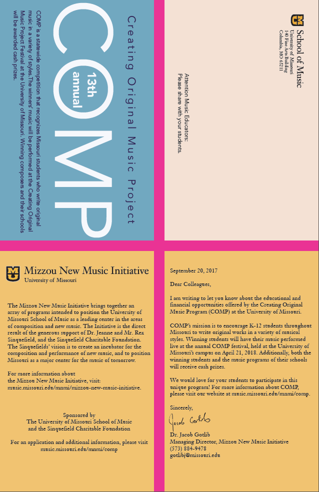 Call for work brochure