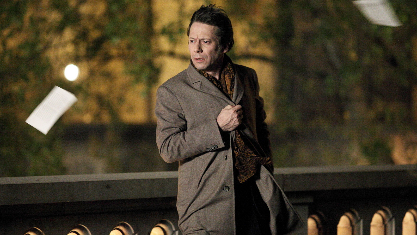 Mathieu Amalric as a mature (at least in age) Paul Dedalus