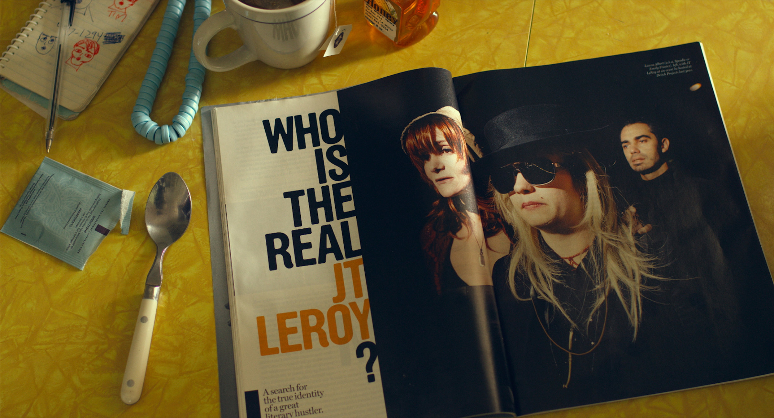 Author: The JT LeRoy Story  (Jeff Feuerzeig)