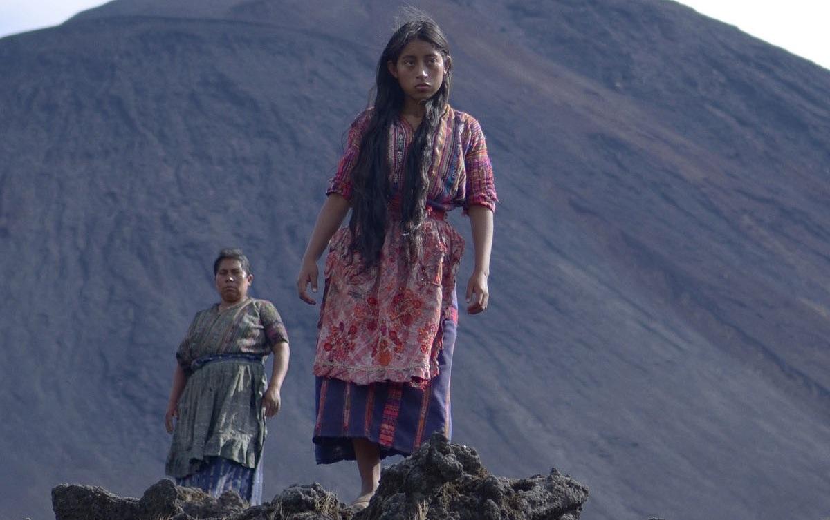 María Telón (left) plays the mother of Coroy (right)