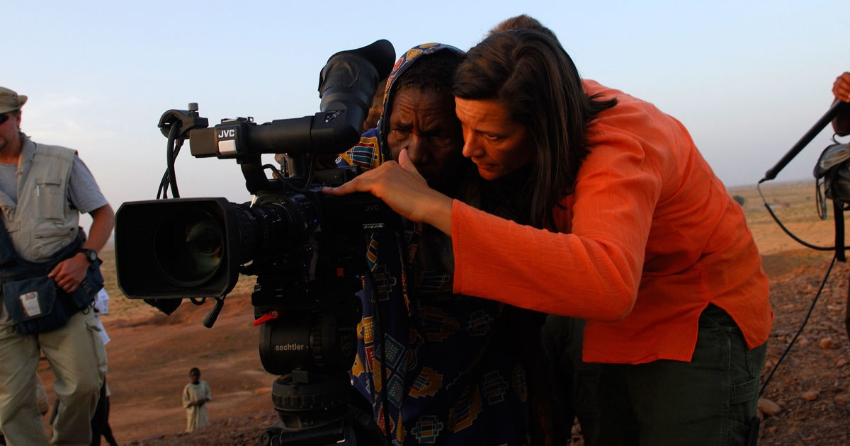 Kirsten Johnson's debut documentary feature  Cameraperson  screened in our fall season of films in 2016 . We liked it enough to honor it with our Best Documentary, Best Carbon Arc Screening, and Best Editing awards.