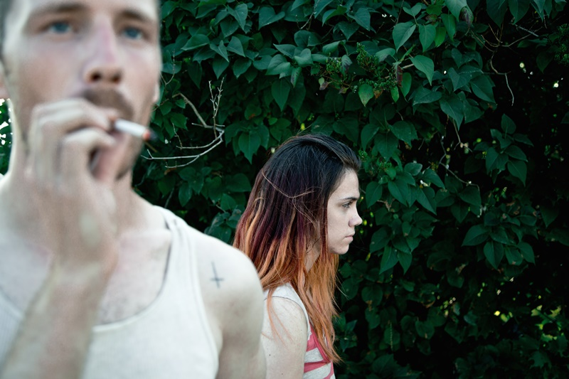 Main characters Blaze (Andrew Gillis) and Nessa (Bhreagh MacNeil) of Ashley McKenzie's debut feature  Werewolf.