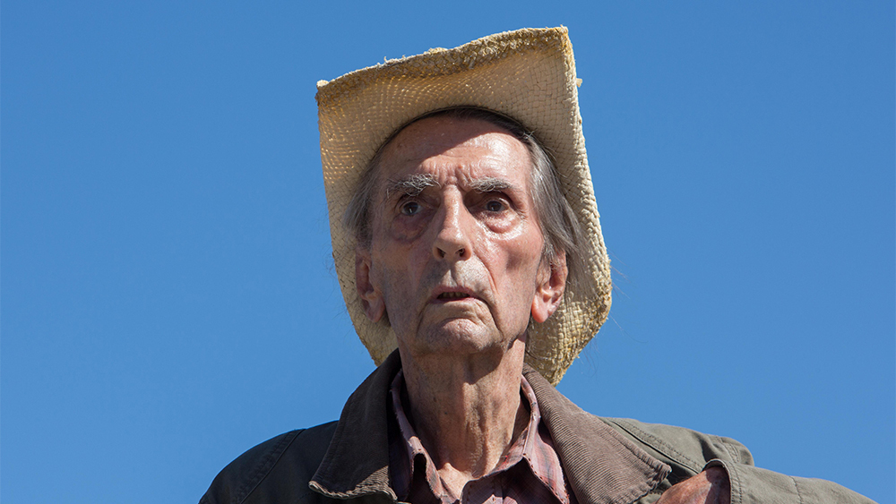 Harry Dean Stanton stars in the titular role.