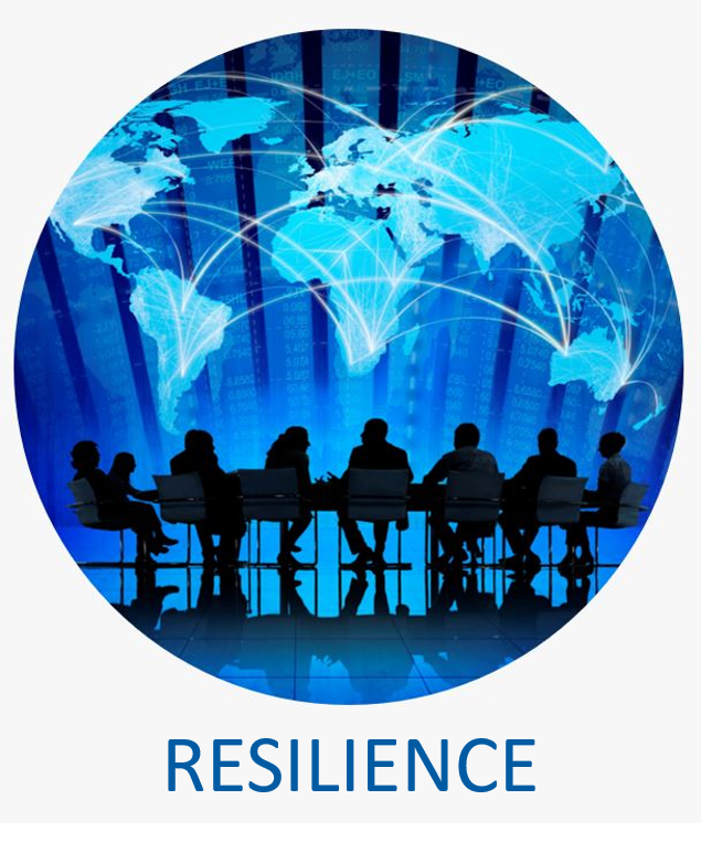 - Our Operational Resilience team works with your team to mitigate issues and crises effectively and efficiently while keeping your organization functioning as we support returning operations back to normal.