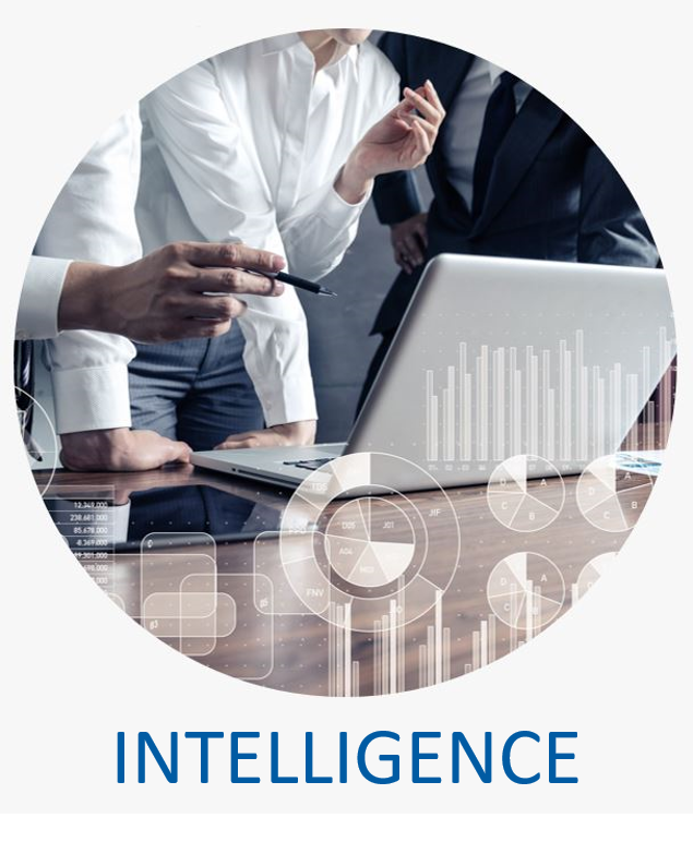 - Our Intelligence and Analytics team analyzes market conditions, business performance and competition, and stakeholders' patterns to forecast future conditions, helping you to make strategic business decisions.
