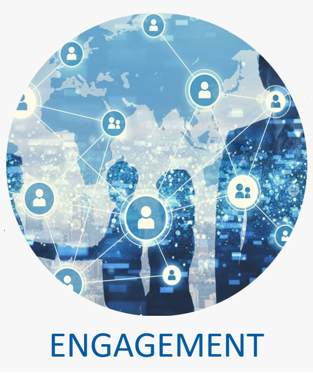 - Our Audience Engagement team works across your organization to identify and cultivate the stories that connect with people who matter most across the right platform, at the right time, with the right message.